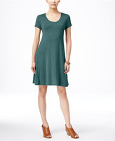 Style&Co. Style & Co. Petite Short-Sleeve A-Line Dress, Only at Macy's