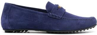 Versace Medusa-motif loafers