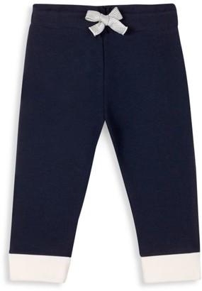 Petit Bateau Baby Girl's Cuffed Sweatpants