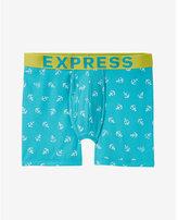 Express anchor print boxer briefs