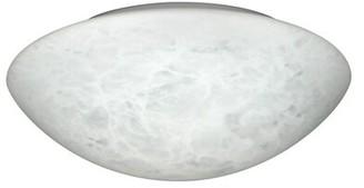 "Carrera Besa Simple Bowl Flush Mount Besa Lighting Size: 3.875"" H x 12.625"" W x 12.625"" D, Glass Shade"