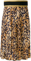 DSQUARED2 pleated midi skirt - women - Polyester - 40
