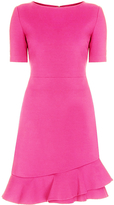 Diane von Furstenberg Serafina Ruffle A-Line Dress