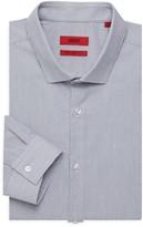 HUGO Erondo Extra Slim-Fit Print Dress Shirt