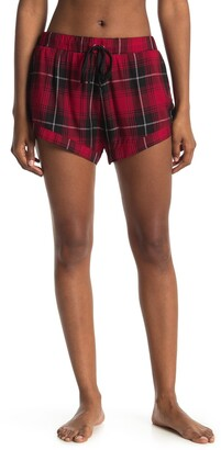 Rowa Plaid Lounge Shorts