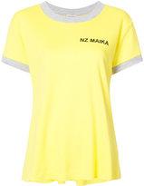 Natasha Zinko contrast trim T-shirt