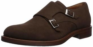 Aquatalia Men's Gavin Suede Monk-Strap Loafer