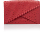 Bottega Veneta Oversized Ostrich Clutch