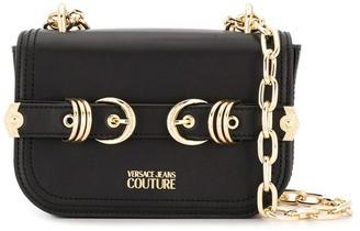 Versace Double Buckle Crossbody Bag