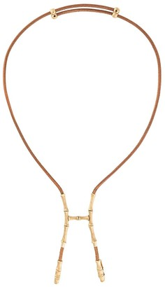 Hermes Pre-Owned Bamboo Bustier Necklace