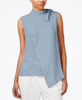 Rachel Roy Mock-Neck Asymmetrical Top, Created for Macy's