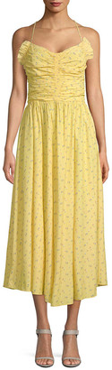 Jill Stuart Halter Midi Dress