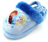 Disney Frozen Girls Scuff Slippers (L (9/10) M US Toddler, )