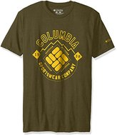 Columbia Apparel Men's Patches Graphic Tee