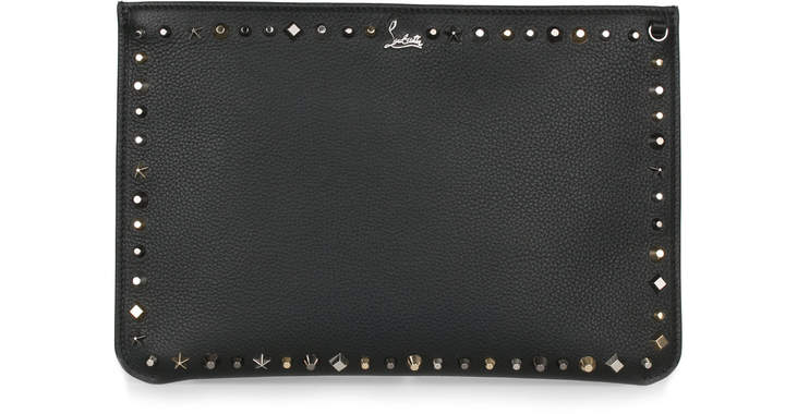 Christian Louboutin Loubiclutch Creative Leather Clutch
