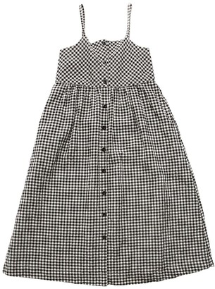 LES COYOTES DE PARIS Gingham Printed Dress