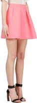 Kenzo Pink Flared Neoprene Skirt