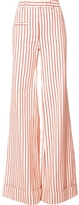 Rosie Assoulin Striped Wide-Leg Pants