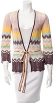 Missoni Multicolor Crocheted Cardigan