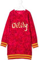 Oilily patterned jumper dress