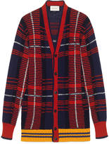Gucci Check wool cardigan