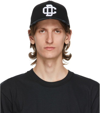 DSQUARED2 Black Logo Baseball Cap
