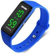 MASTOP Women Sports Watches Girls Simple Design LED Digital Wristwatches 30M Water Resistant Watch