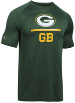 Under Armour Men's Green Bay Packers Lockup Tech T-Shirt