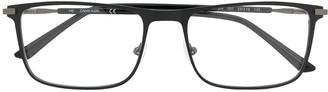 Calvin Klein Rectangle-Frame Logo Glasses