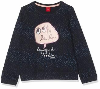 S'Oliver Junior Girl's 54.899.41.0468 Sweatshirt