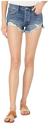 Free People Loving Good Vibrations Shorts (Dark Denim) Women's Shorts