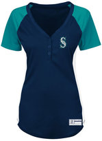 Profile Women's Seattle Mariners League Diva Plus Size T-Shirt