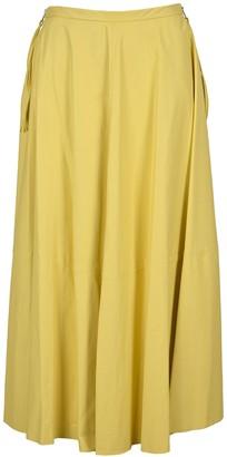 MM6 MAISON MARGIELA Draped Midi Skirt