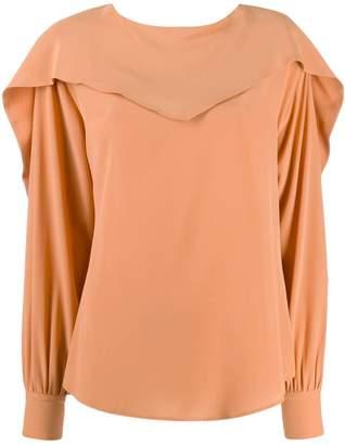 Cavallini Erika Carmen silk blouse