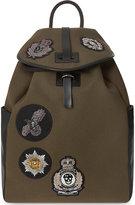 Alexander Mcqueen Badge Detail Backpack