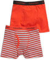 Calvin Klein Boys' or Little Boys' 2-Pack Boxer Briefs