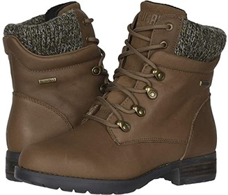 Cougar Derry Waterproof (Black Ranchero Leather/Suede) Women's Cold Weather Boots