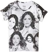 Eleven Paris Girl's VIOLETTAOVER SS Round Collar Short Sleeve T-Shirt,(Manufacturer size: 12 ans)