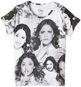 Eleven Paris Girl's VIOLETTAOVER SS Round Collar Short Sleeve T-Shirt,(Manufacturer size: 4 ans)