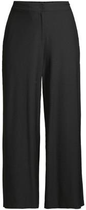 Eileen Fisher Wide-Leg Crop Trousers