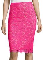 WORTHINGTON Worthington Lace Pencil Skirt - Tall