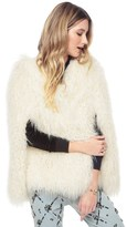 Juicy Couture Mongolian Faux Fur Coat