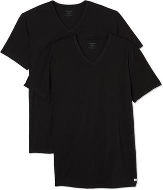 Calvin Klein Underwear 2-Pack Short Sleeve V-Neck T-Shirt