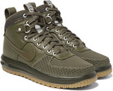 Nike - Lunar Force 1 Duckboot Leather And Rubber Sneakers