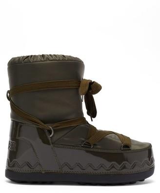 Bogner Trois Vallees Shell Snow Boots - Khaki