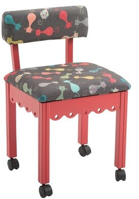 Zoomie Kids Coakley Cat Storage Task Chair Frame Color: Red