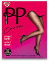 Pretty Polly Curves Pinspot Fashion Tights Plus Size