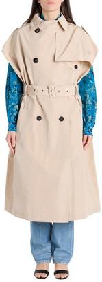 Givenchy Sleveless Trench Coat