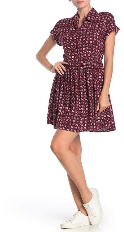 BeBop Geo Print Challis Dress