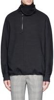 Wooyoungmi Turtleneck woven wool sweatshirt